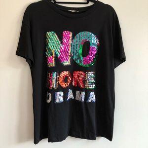 Zara No More Drama T-Shirt